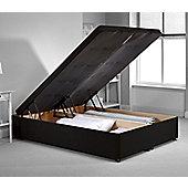 Richworth Ottoman Divan Bed Frame - Black Chenille Fabric - Black