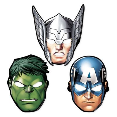 Avengers Party Masks