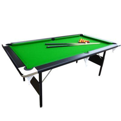 7ft Hustler Foldup Pool Table