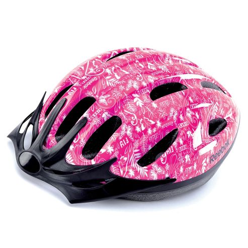 Reebok Junior Cycling Helmet Pink