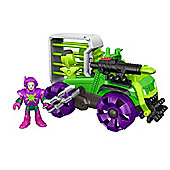 Imaginext DC Super Friends Lex Luthor Hauler