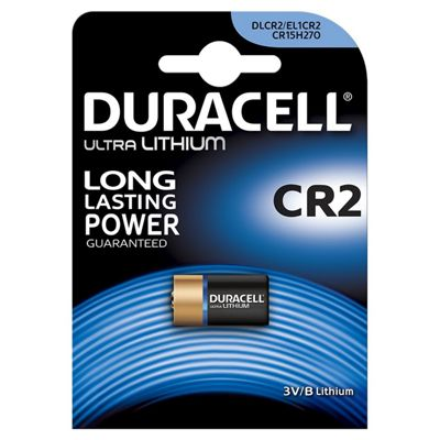 Duracell CR2 3V Lithium Camera Battery