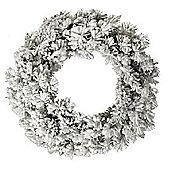 Snowy Green Toronto Christmas Wreath - 50cm