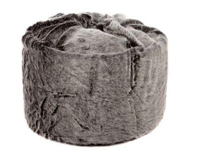 Kaikoo Fur Beanbag Grey