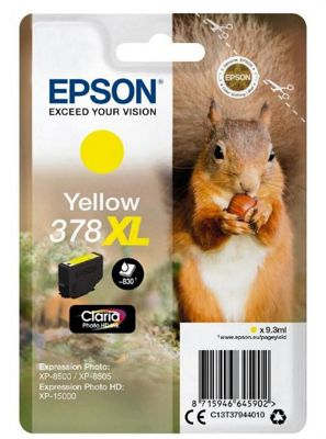 Epson 378XL 9.3ml 830pages Yellow ink cartridge 830 pages