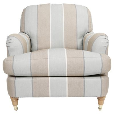 buy florence fabric armchair stripe duck egg from our armchairs