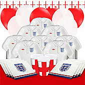 England Party Pack - Deluxe Pack for 16
