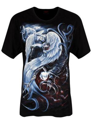 Spiral Yin Yang Boyfriend Fit T-shirt