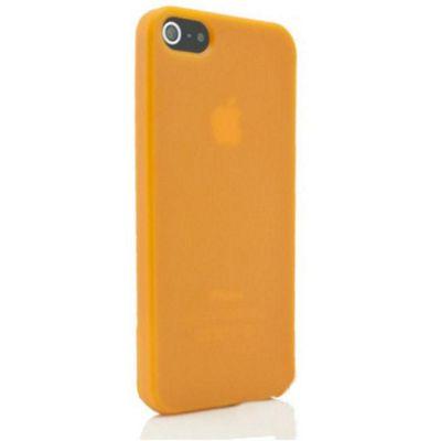 U-bop gSHELL Tough All-Body Gel Case Smoke Orange - For Apple iPhone 5