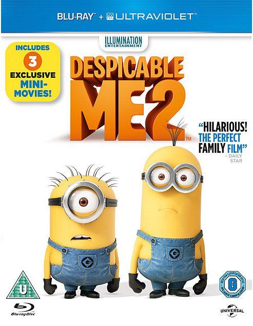 Despicable Me 2 (Bluray)