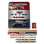 Cars 3 Personalised Stationery Tin