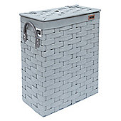 EHC Slim Line Laundry Basket With Lid