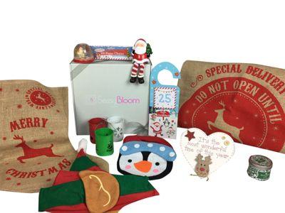 Sassy Bloom 1St Xmas Baby Gift Box