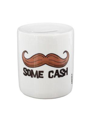 Moustache Some Cash Money Box