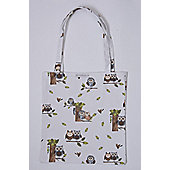 Roy Kirkham RSPB Nature's Way Woodland Owl PVC Shopping Bag