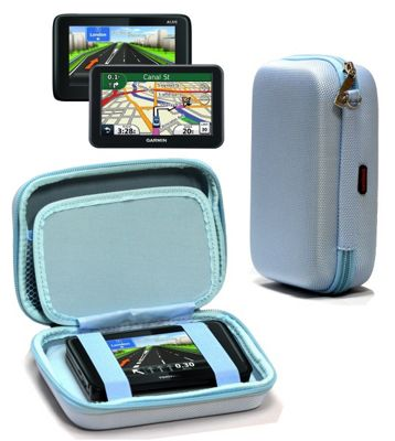 Navitech Hard Carry Case Blue For The Garmin Nuvi 2519 LM