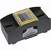 New Cq Poker Casino Style Electric Automatic Card Shuffler 2 Deck