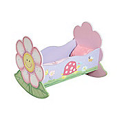 Fantasy Fields by Teamson Magic Garden Dolls Rocking Bed