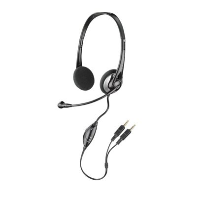 Plantronics SupraPlus D261N Wired Stereo Headset - Over-the-head - Semi-open
