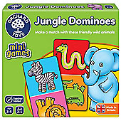 Orchard Toys Mini Games Jungle Dominoes