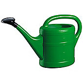5L Green Plastic Garden Watering Can with Rose