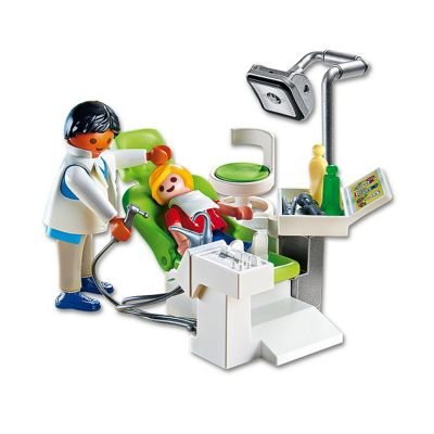Playmobil 6662 City Life Children's Hospital Dentist with Patient