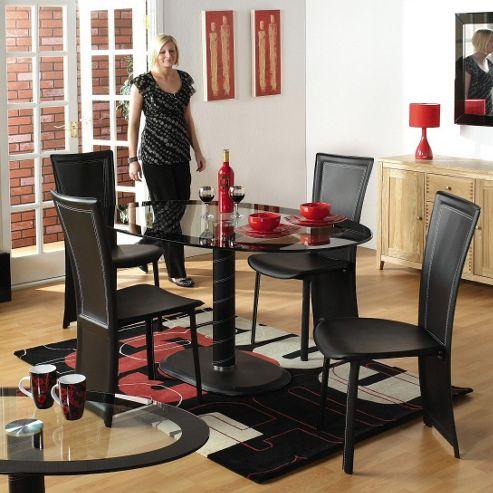 Home Essence Coromandel 5 Piece Oval Dining Set