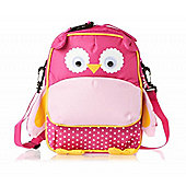Navigate Kids Insulated Lunch Bag Rusac - Pink Owl Design