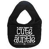 Dirty Fingers If you think I'm Cute you should see my Auntie Bib Black