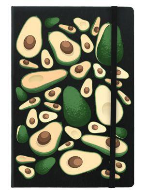 Avocado Frenzy A5 Notebook