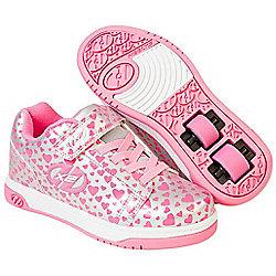 Heelys Dual Up Navy/New Blue Kids Heely X2 Shoe - Silver