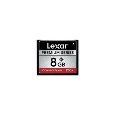 Lexar Premium 200x 8GB Compact Flash Card