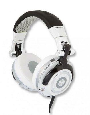 iFrogz Earpollution Mogul DJ Foldable Headphones Snow
