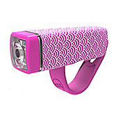 Knog Pop 1 Front LED Cycle Light 35 Lumens Pink