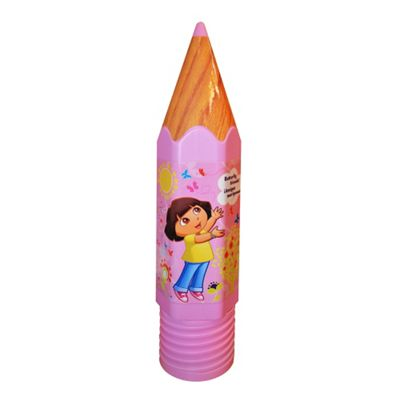 Dora The Explorer Pencil Shaped Plastic Pencil Case School Statioery