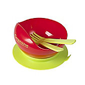 Clevamama Suction Feeding Bowl with Cutlery