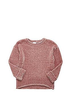 F&F Chenille Rib Jumper - Pink