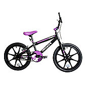 "Zombie Shade BMX Bike 18"" Mag Wheel Black/Purple"