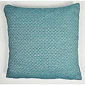 Mason Grey Rex Teal Cushion Cover - 43x43cm