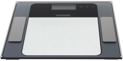 Telefunken Stainless Steel Digital Weight and Bodyfat Bathroom Scales