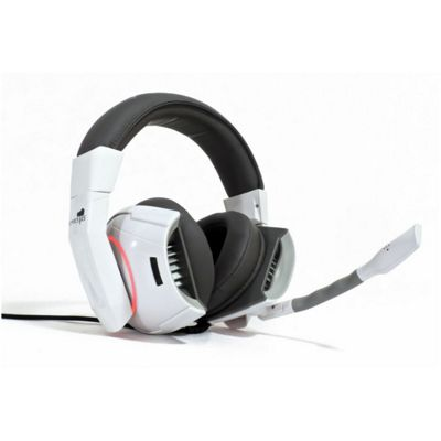 GAMDIAS HEPHAESTUS Binaural Head-band Black White headset