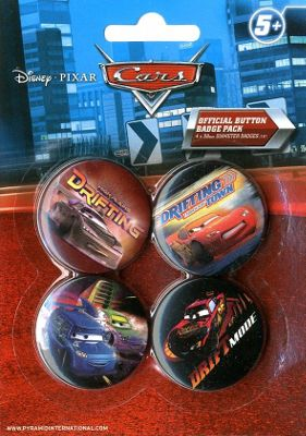 Cars Drift High Plains Drifting Badge Pack 10.5x14.5cm