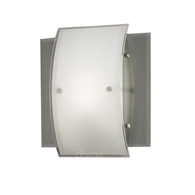 Vito Ceiling/Wall Lamp 1 Light Polished Chrome/Smoked Mirror
