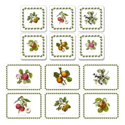 Pimpernel Pomona Placemats and Coasters Set