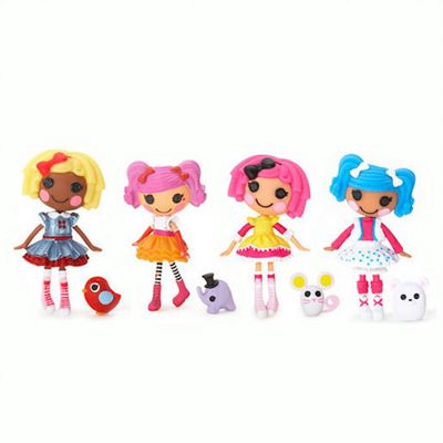 Mini Lalaloopsy Dolls 4 Pack - Set 21