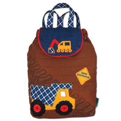Toddler Backpacks, Children's Brown Construction Backpack