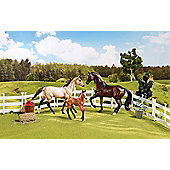 Breyer - Classic Collection - Sport Horse Family - Scale 1:12 - Hornby