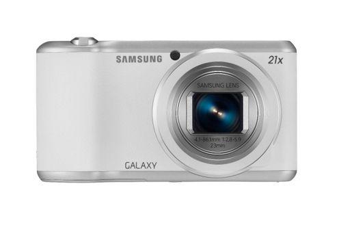 Samsung Galaxy GC-200 Camera White 16.3MP 4.8LCD 720pHD WiFi MicroSD