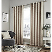 Fusion Denby Eyelet Curtains - Natural