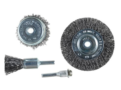 KWB Wire Brush Set, 4 Piece